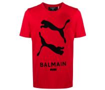 x Puma T-Shirt mit Logo