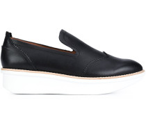 Loafer aus Leder - women - Leder - 10