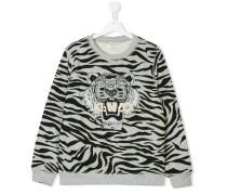 tiger stripe sweatshirt