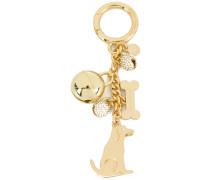 Schlüsselring mit Hund-Design