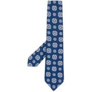 Krawatte mit Kachel-Print