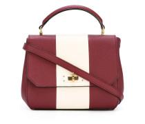 Kleine Handtasche mit Kontraststreifen - women