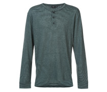 Miles Henley striped long sleeve shirt
