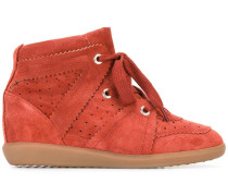 'Bobby' Wedge-Sneakers - women - Leder/Calf