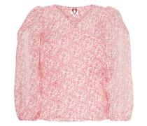 'Cordelia' Organza-Bluse mit Print