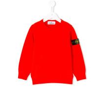Sweatshirt mit Patch - kids - Baumwolle - 2 J.