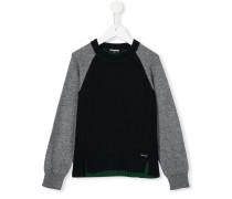 Pullover mit Kontrastärmeln