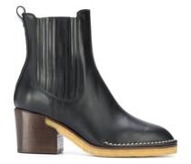 Chelsea-Boots mit hohem Absatz