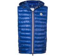 padded hooded gilet