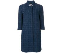 three quarter sleeve coat