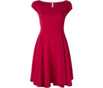 Ausgestelltes Kleid mit kurzen Ärmeln - women