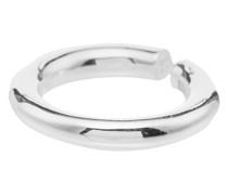 Doppelter Ring aus Sterlingsilber