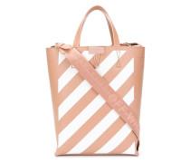 Shopper mit diagonalen Streifen