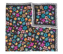 'Logo & Flowers' Schal mit Print