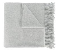 - Großer Schal mit Fransen - women - Schurwolle