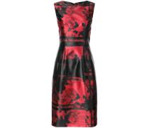 Kleid mit grafischem Rose