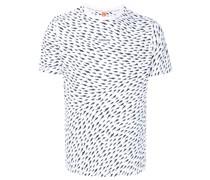 T-Shirt mit Hai-Print