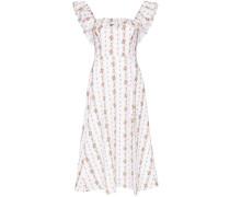 'Amethyst' Kleid mit Blumen-Print