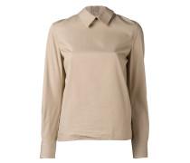Hemd mit Rüschenbesatz - women - Baumwolle - L