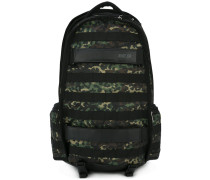 camouflage panel backpack