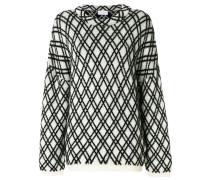 'Kvasa' Pullover mit Rautenmuster