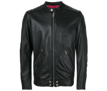 L-quad leather jacket