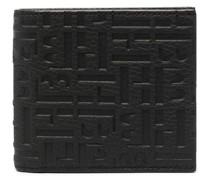 Portemonnaie aus gekörntem Leder