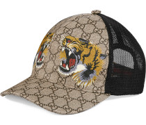 GG Supreme Baseballkappe mit Tiger-Print