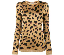 'Iggy' Pullover mit LeopardenPrint