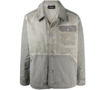 A-COLD-WALL* contrast worn-look jacket