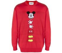 Intarsien-Pullover mit Micky Maus