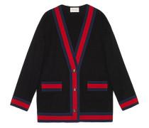 Tweed-Jacke mit Web