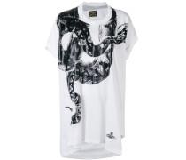T-Shirt mit Schlangen-Print - women