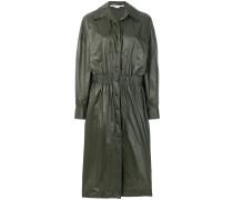 Regenmantel mit geraffter Taille