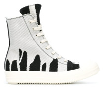 'Vomit Bleach' High-Top-Sneakers