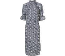 ruffle sleeved dress