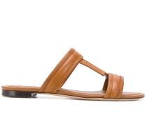 Sandalen mit Stickerei