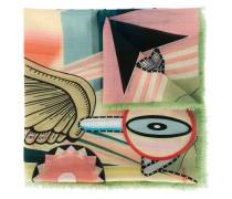 Egyptian circus print scarf