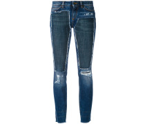- deconstructed skinny jeans - women