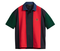 Reissued striped polo shirt
