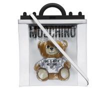 Transparente Handtasche mit Teddy