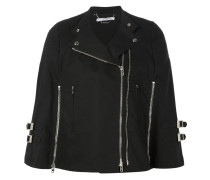 biker cape jacket