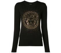 Langes Langarmshirt mit Medusa-Motiv