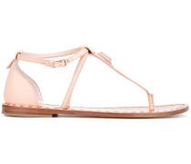 - Sandalen mit T-Riemen - women - Leder/rubber