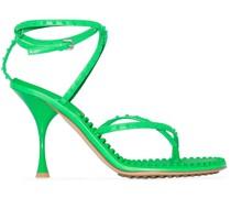 Sandalen mit Nieten 90mm