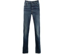 Schmale Jeans im Distressed-Look