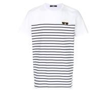 Karl Ikonik striped T-shirt