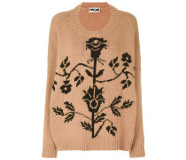 Pullover mit floralem Muster