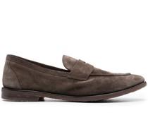 Loafer mit gebürstetem Effekt