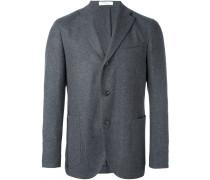 three-button blazer